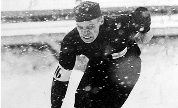 Clas Thunberg tunnettiin jääkenttien Nurmena.