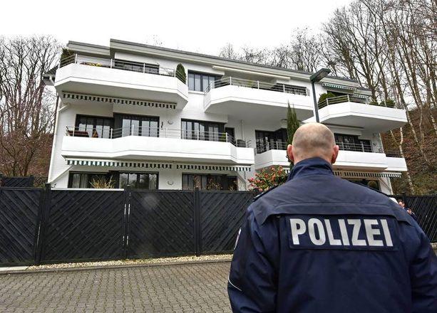 Andreas Lubitz asui tässä talossa tyttöystävänsä kanssa.