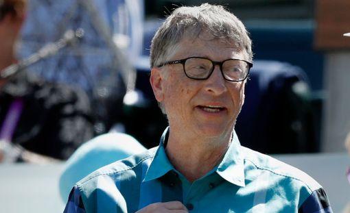 Bill Gates on jälleen ykkönen.