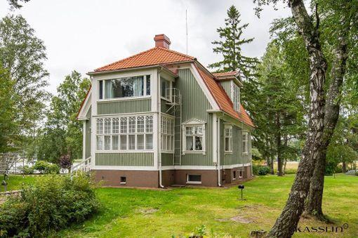 Talossa on tehty kokonaisvaltainen saneeraus 2000-luvulla.