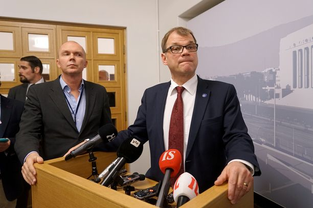 Juha Sipilä kommentoi Yle-kohua keskiviikkona eduskunnassa.