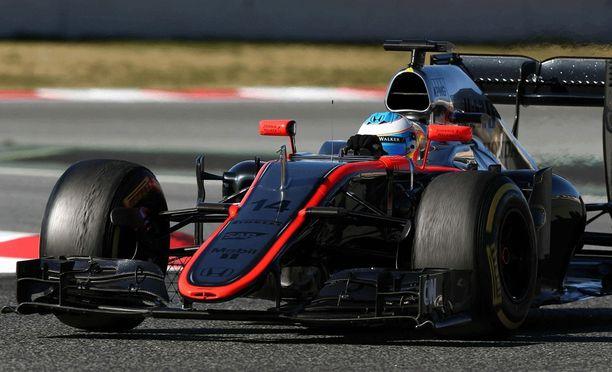 Fernando Alonso ei kaasuttele Australian GP:ssä tänä vuonna.