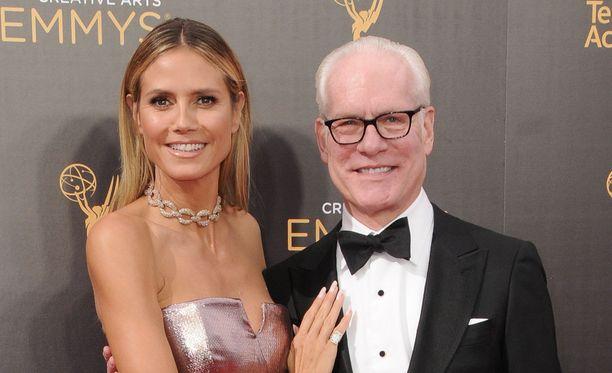 Heidi Klumin ja Tim Gunnin yhteinen tv-ura alkoi vuonna 2004.