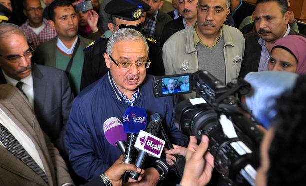 Egyptin turismiministeri Hisham Zaazou