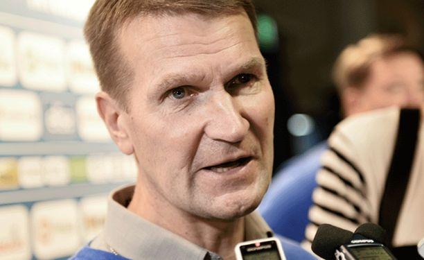 Erkka Westerlund on valmentanut Jokereita 1999-2001 ja 2010-2012.