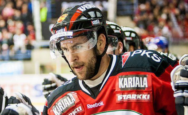 Scott Matzka oli avainpelaaja Jokipoikien mestarijoukkueessa keväällä 2010.