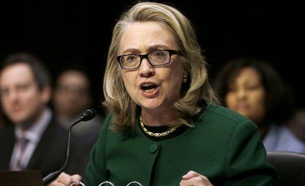 Clintonia on grillattu muun muassa Bengasin tragediasta.