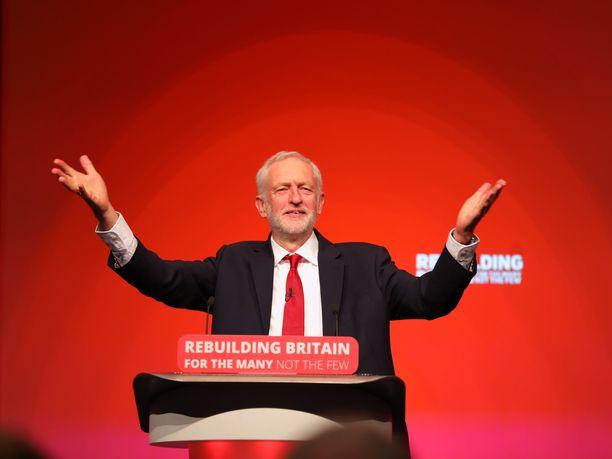 Britannian nykyisen pääministerin mielestä Jeremy Corbyn pääministerinä olisi katastrofi.
