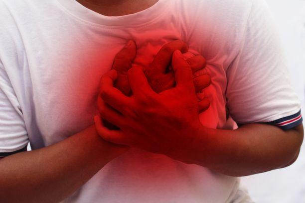Rintakipu ei aina ole sydänperäistä.