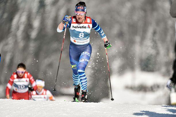 Krista Pärmäkoski oli maailmancupin kokonaiskisan kovin suomalainen.