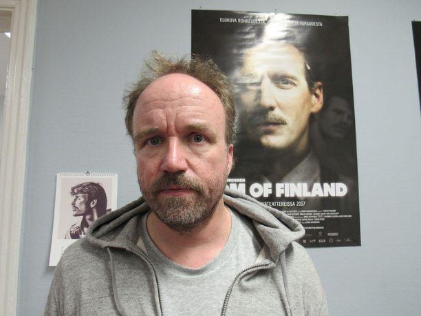 Aleksi Bardy on Tom of Finland -elokuvan käsikirjoittaja.