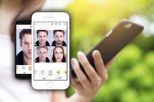 Faceapp on noussut uudelleen maailmalla suosituksi.