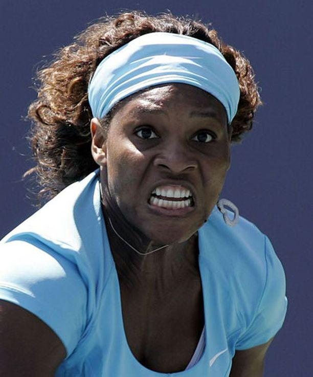 Serena Williams kummastelee ranking-systeemiä.