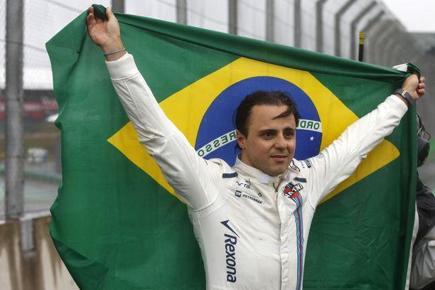 Felipe Massa on toistaiseksi viimeisin brasilialainen F1-kuljettaja.