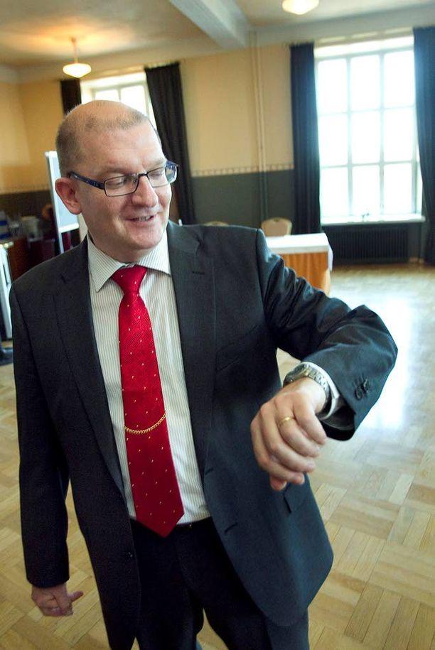 Metallin puheenjohtaja Riku Aalto on ay-liikkeen ja demarien kummisetä.