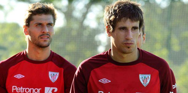 Javi Martínez ja Fernando Llorente ovat lähtökuopissa.
