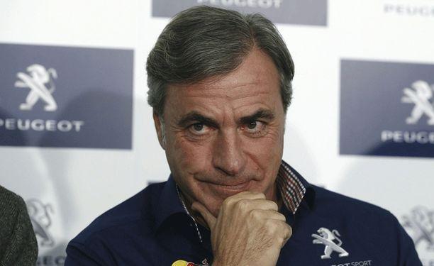 Carlos Sainz, 52, törmäili Argentiinassa.