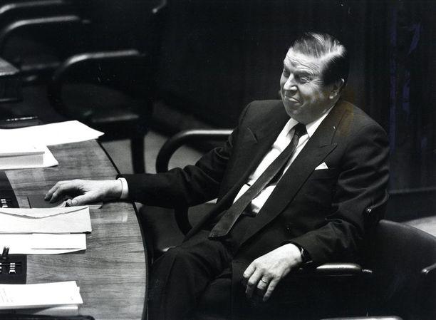 Johannes Virolaisesta tuli suomalaisen politiikan ikoni.