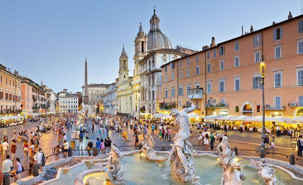 Ikuisena kaupunkina tunnettu Rooma on todellinen lomaklassikko.