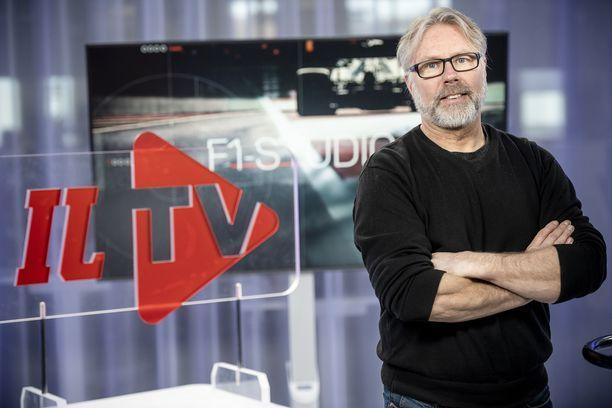 Jyrki Järvilehto toimii Iltalehden F1-asiantuntijana.