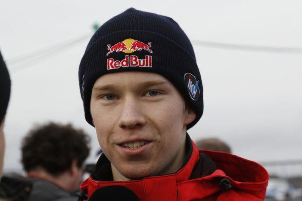 Kalle Rovanperä halusi kolmannen sijan Ruotsista.
