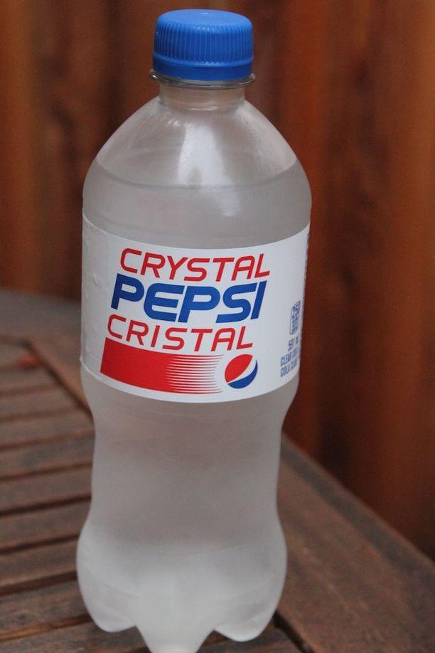 Crystal Pepsin on kuvailtu maistuvan kissan pissalta.