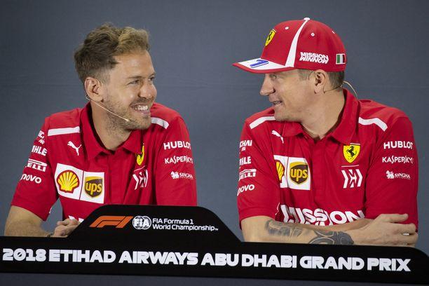 Sebastian Vettel yllättyi Kimi Räikkösen päätöksestä liittyä Instagramiin.