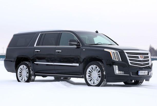 Yllättäjä - Cadillac Escaladea klikattiin yli 6000 kertaa.