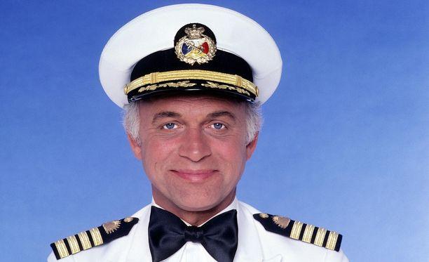 Gavin MacLeodin tunnetuin rooli oli Lemmenlaiva-sarjan kapteenina.