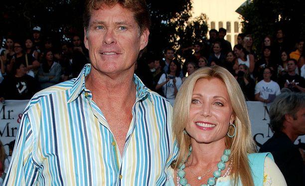 David Hasselhoff ja Pamela Bach olivat naimisissa vuodesta 1989 vuoteen 2006.