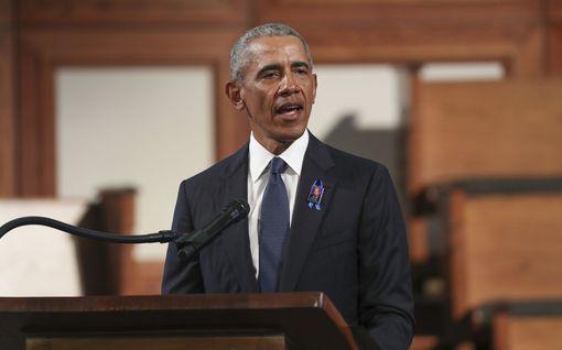 Barack Obama piti muistopuheen John Lewisille – arvosteli voimakkaasti maansa nykyhallintoa