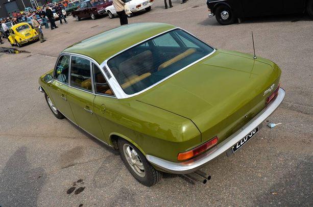 NSU Ro80 oli esittelyvuotenaan 1967 hyvin moderni auto.