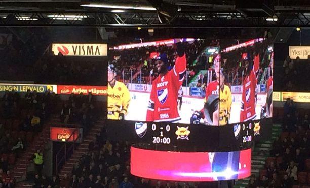 HIFK:n pelissä oli erityisiä vieraita Pohjois-Amerikasta.