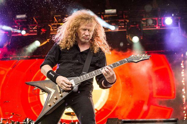 Megadeth-yhtyeen ura alkoi jo vuonna 1983.