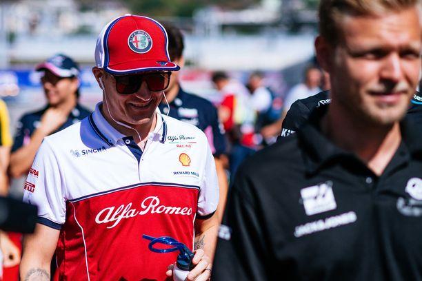 Kimi Räikkönen epäonnistui Venäjän GP:n startissa.