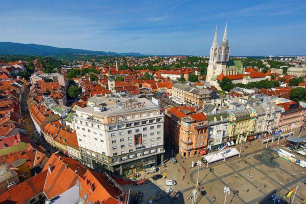 Krotian pääkaupunkiin Zagrebiin pääsee pian suoralla lennolla.
