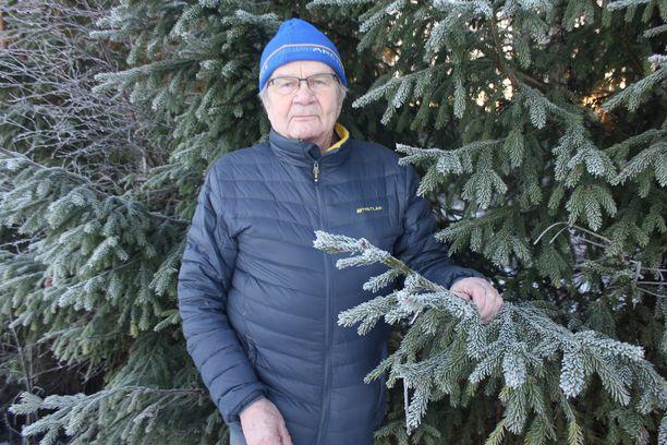 Arvo Martikainen on läpi elämänsä ammentanut lisävoimaa metsästä.