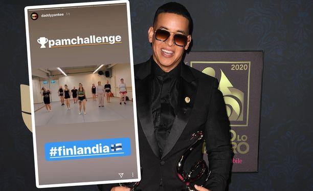 Daddy Yankee, 43, jakoi suomalaisen tanssivideon somessaan. Miehen tunnetuin kappale lienee vuoden 2004 Gasolina.
