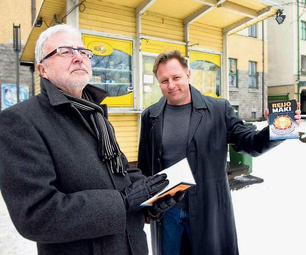YKSITYISETSIVÄN JÄLJILLÄ Toimittaja Markku Haapio kirjoitti Reijo Mäen Vares-kirjojen pohjalta matkaoppaan Vareksen Turkuun.
