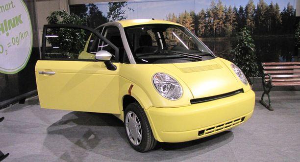 Think-sähköauto maksaa noin 50 000 euroa.