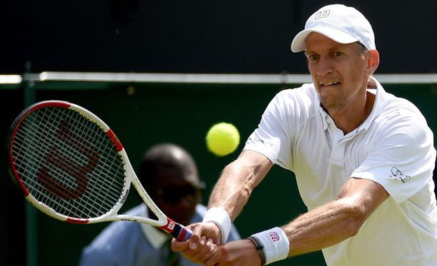 Jarkko Nieminen pelaa uransa viimeistä Wimbledonin tennisturnausta.