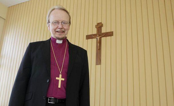 Arkkipiispa Kari Mäkinen edustaa kirkon uudistusmielistä siipeä.