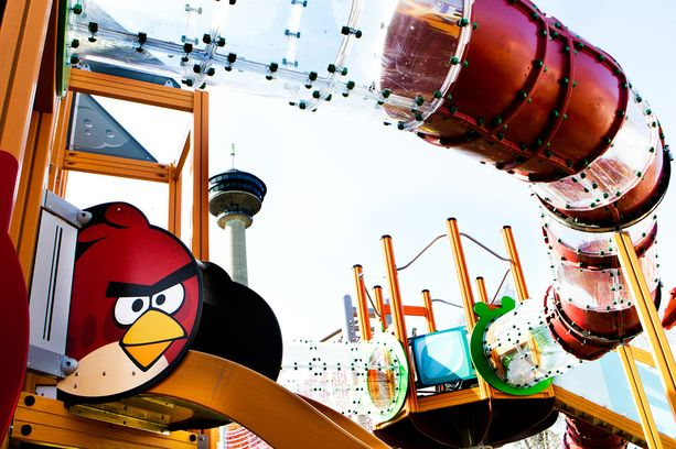 Rovion tuotteisiin kuuluvat myös Angry Birds -puistot.