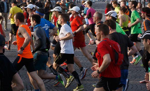 St. Louisin maratonilla yritettiin tuplahuijausta. Kuvituskuva.