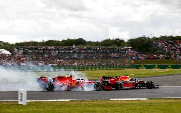 Tämä osuma puhutti paljon Britannian GP:n jälkeen.