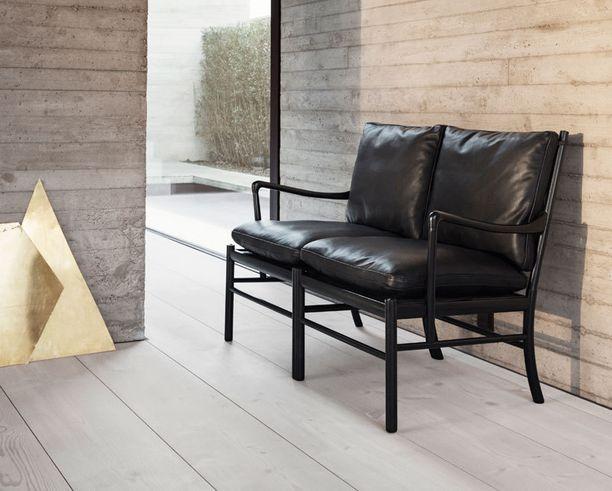 Tanskalaisen Carl Hansen & Sonin Colonial -sohva tuli ensimmäisen kerran markkinoille vuonna 1969. Nyt se tuodaan jälleen kuluttajien saataville.