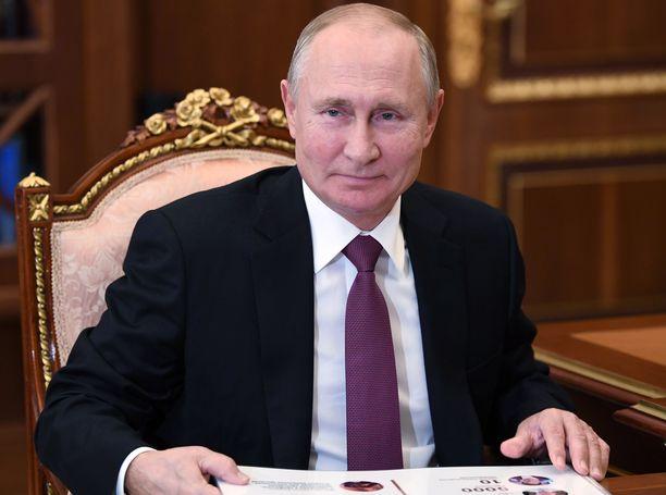 Putinin kerrotaan olevan Moskovassa, mutta täyttä varmuutta asiasta ei ole.