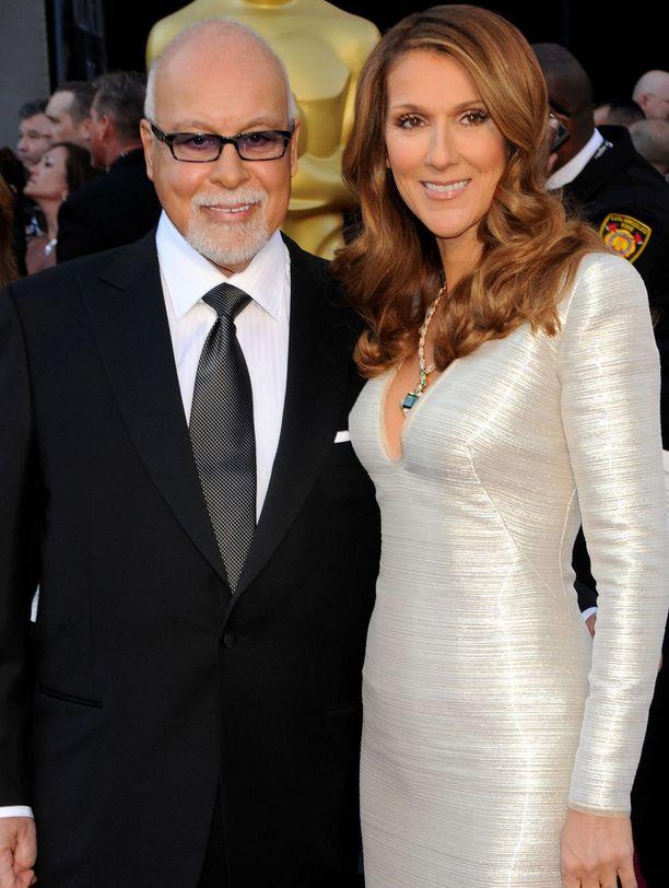 Celine Dion ja René Angélil kuvattuna vuonna 2011.