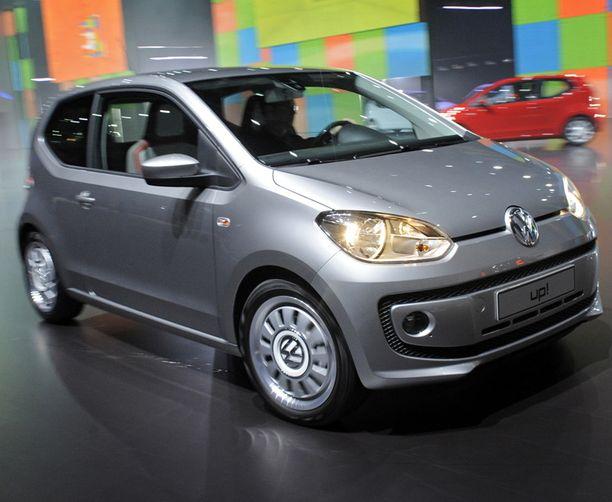VW UP Onko tämä uusi perhekokoluokan sedan? Näköä on.