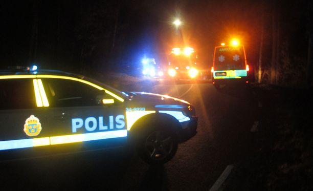 Poliisi tutkii outoa sieppaustapausta Täbyssä. Kuvituskuva.